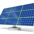 Solar panel Blue — Stock Photo