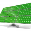 Solar panel green — Stock fotografie