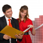 Business team comunication — Stock Photo