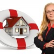 Stock Photo: House insurance services