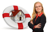 House insurance services — Stock Photo
