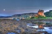 Eilan Donan Castle at night — Stock Photo