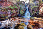 Scotish waterfall HDR — Stock Photo