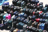 Luggage on the Dock — Stock Photo