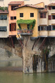 Ponte Vecchio detail — Stock Photo