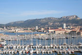 Toulon Marina view — Stock Photo