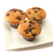 Orange and Choc Chip Muffins — Stock Photo