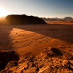 Sunrise in Wadi Rum — Stock Photo #10948490