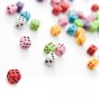 Static Dices - Angled View — Stock Photo #10948662