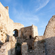 Ruins of Spissky hrad (castle), Slovakia - Stock Photo
