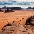Scenic view of Wadi Rum desert, Jordan. — Stock Photo