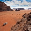 Valley in the Wadi Rum, Jordan. — Stock Photo