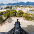View of Kumamoto and nearby mountains from castle — Stock Photo