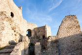 Ruins of Spissky hrad (castle), Slovakia — Stock Photo