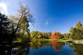 Lednice-Valtice - Autumn — Stock Photo