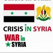 Crisis and war in Syria — Stock Vector #10890963