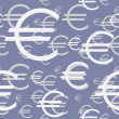 Royalty-Free Stock Векторное изображение: Euro symbol background
