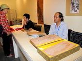 Beijing flavour traditional handicraft--Wood engraving art — Stock Photo