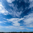 Cirrus and altocumulus — Stock Photo