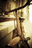Old bicycle — Foto Stock