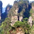 Mysterious Mountains Zhangjiajie - Stock Photo