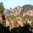 Mysterious Mountains Zhangjiajie — Stock Photo