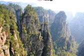 Tajemnicze góry zhangjiajie — Zdjęcie stockowe