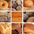 Royalty-Free Stock Photo: Bread collage