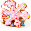 Christmas cookies — Stockfoto #11000327