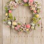 Easter egg wreath — Stock Photo #11000475