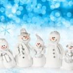 Christmas snow scene — Stock Photo #11000773