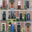 Royalty-Free Stock Photo: Dutch front doors.