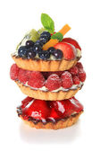Fruit tarts — Stock Photo