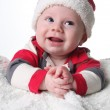 Happy Christmas baby — Stock Photo