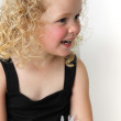 Beautiful little girl - Stockfoto