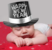 New year baby — Stock Photo