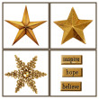 Christmas stars — Stock Photo #11104967