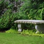 Granite bench — Stock Photo #11105402