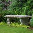 Granite bench — Stock Photo