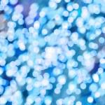 Blue lights — Stock Photo