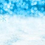 Постер, плакат: Christmas snow scene