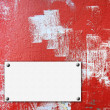 Stock Photo: Grunge red wall.
