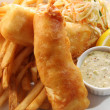 Fish and chips — Stock Photo #11106329