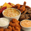 Appetizer platter — Stock Photo