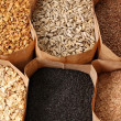 Whole grains — Stock Photo