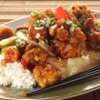 Sweet and sour chicken — Foto Stock #11106812