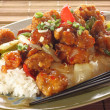 Stock Photo: Sweet and sour chicken