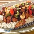 Kung pao chicken — Foto Stock
