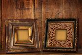 Antique picture frames. — Foto Stock