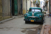 Vintage Chevrolet, Havana. — Stock Photo